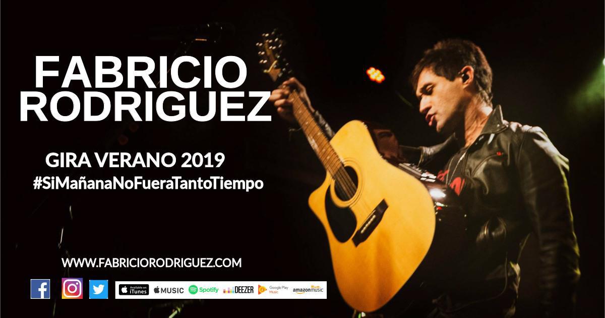 FABRICIO RODRIGUEZ GIRA VERANO 2019